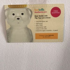 Bear Bottles Perfect for 4 months and up